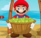 Mario hứng dừa