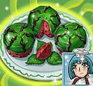 Bánh cupcake dưa hấu