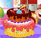 Bánh kem mừng năm mới