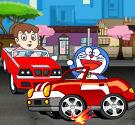 Doremon lái xe