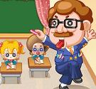 Thầy giáo nghiêm khắc
