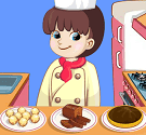 Cô đầu bếp tý hon