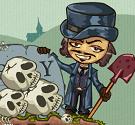 Đào hố chôn xương