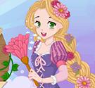 Rapunzel vệ sinh nhà cửa