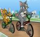 Mèo và chuột đua xe đạp