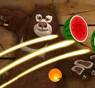 Gấu chém hoa quả