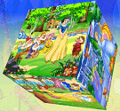 Ghép hình công chúa 3D