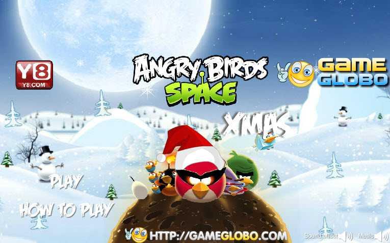 Game angry birds đòi quà giáng sinh hình ảnh 1