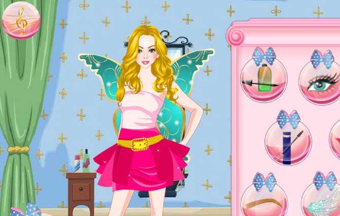 game-blond-barbie-trang-diem-hinh-anh-1