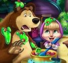 Masha và đầu bếp gấu