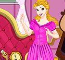 Công chúa Belle dọn phòng