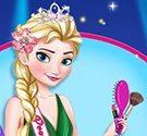 Elsa dự tiệc đêm