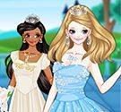 Thời trang cưới công chúa cổ tích
