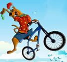 Scooby Doo biểu diễn xe đạp