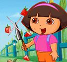 Dora chém hoa quả