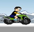 Nobita lái ATV