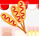 Quầy Hotdog