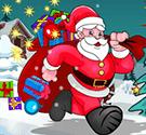 Santa nhặt quà 4