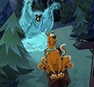 Scooby chạy trốn bóng ma