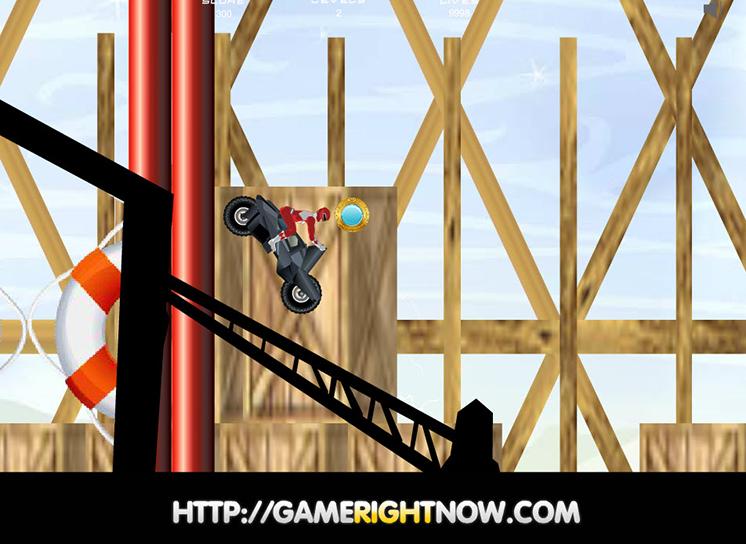 Game siêu nhân lái mô tô hình ảnh 3