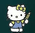Hello Kitty làm toán