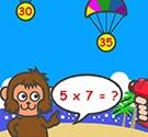 Khỉ con làm toán