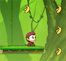 Khỉ con lượm chuối 2