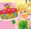TinkerBell làm bánh