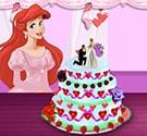 Ariel làm bánh