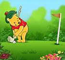 Gấu Pooh đánh golf