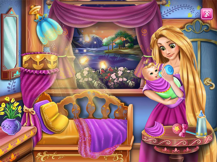 Game-rapunzel-cham-soc-be-hinh-anh-2