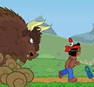 Chạy trốn bò rừng