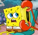 Spongebob khám tai