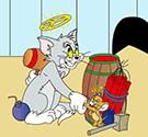 Tom và Jerry đặt bom