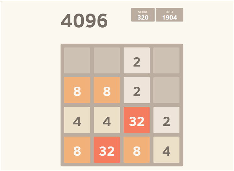 game 4096 online hinh anh 1