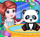 Chăm sóc gấu trúc Panda