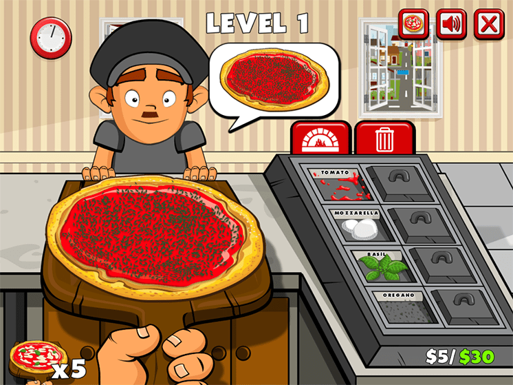 game tap lam pizza hinh anh 2