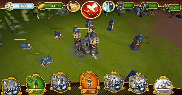 game battle towers appvn hinh anh 1