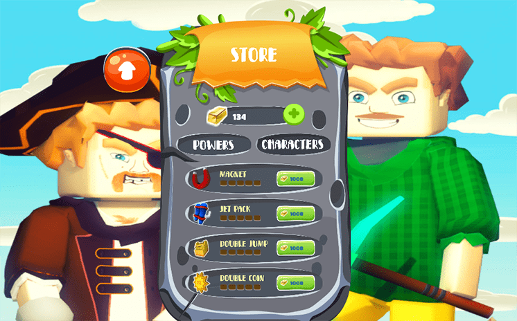 game miner run online 3d hinh anh 3