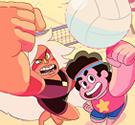 Steven Universe đánh bóng chuyền