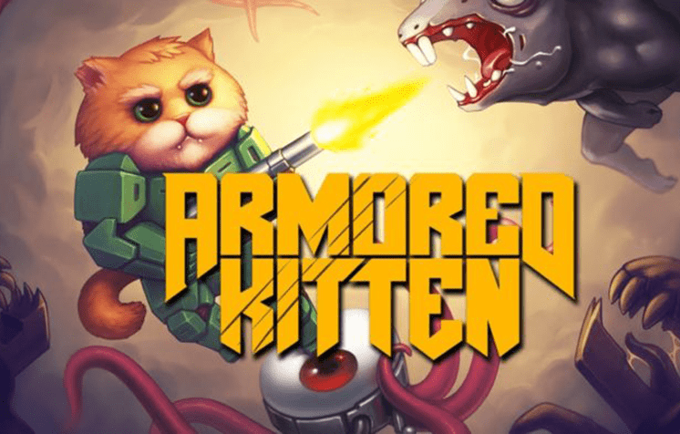 tro choi armored kitten cats vs zombies