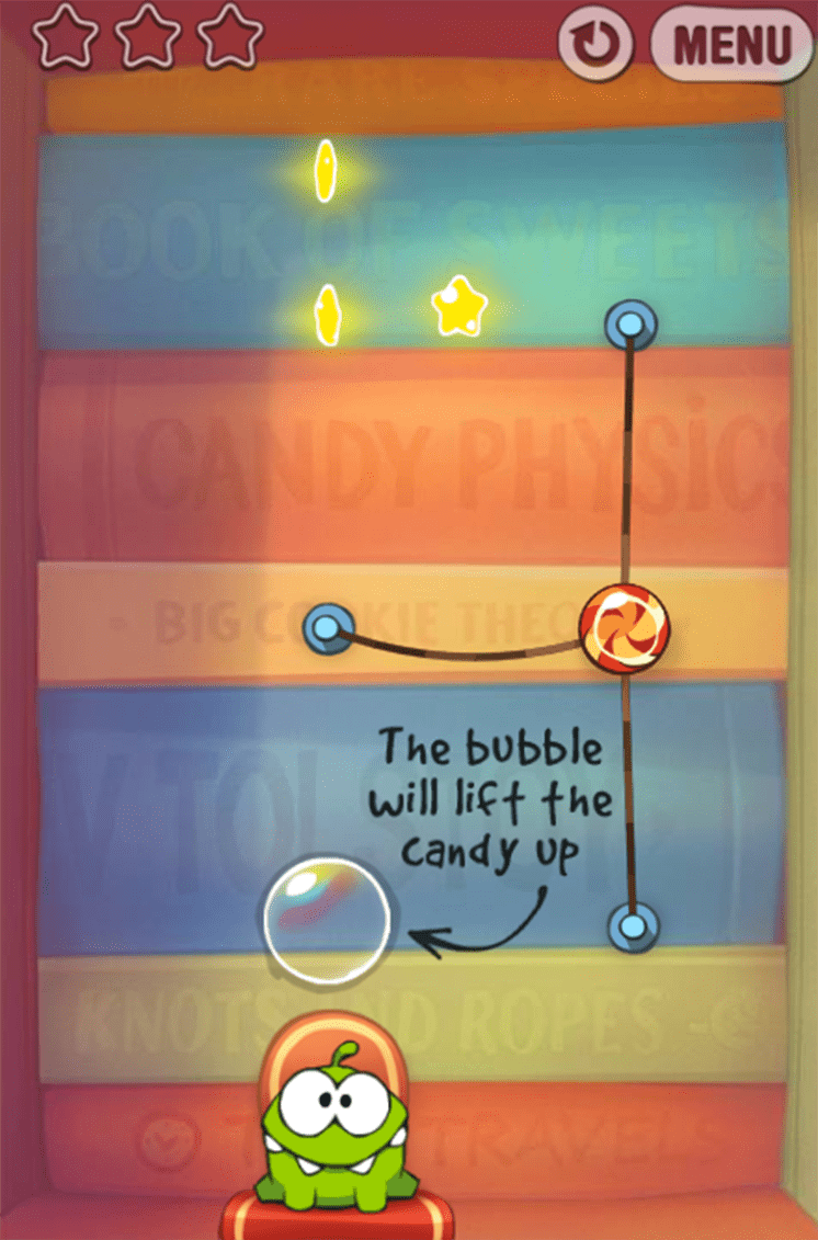 game cut the rope experiments hinh anh 1
