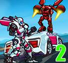 Đua xe robot biến hình 2