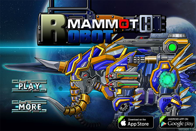 game lap rap robot voi ma mut mammoth online hinh anh 1