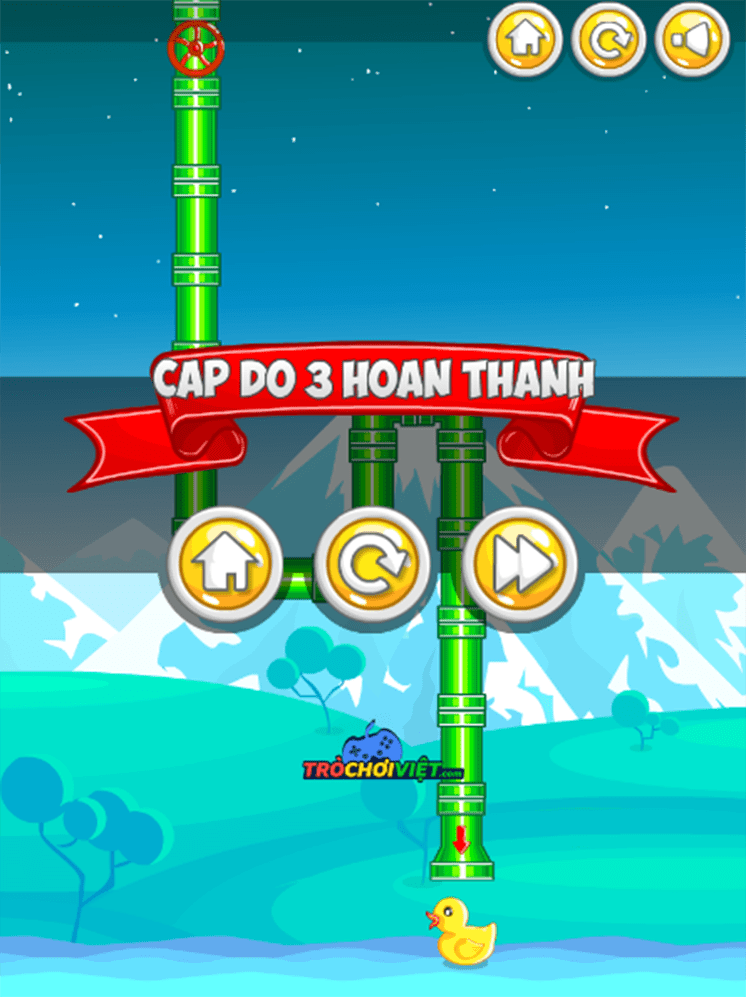 game noi ong nuoc cuu vit con hinh anh 2