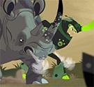 Tê giác húc