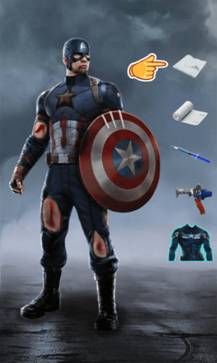 game tri thuong cho captain america hinh anh 1