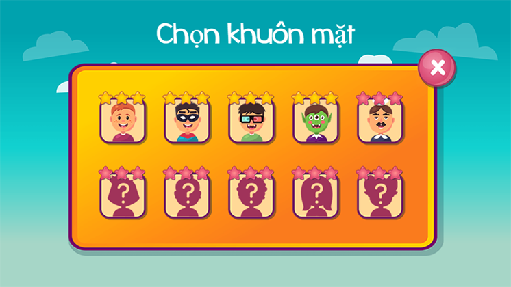 game ve chan dung hinh anh 1