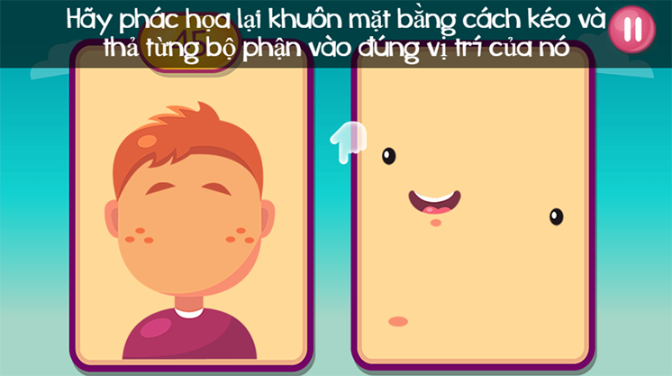 game ve chan dung hinh anh 3