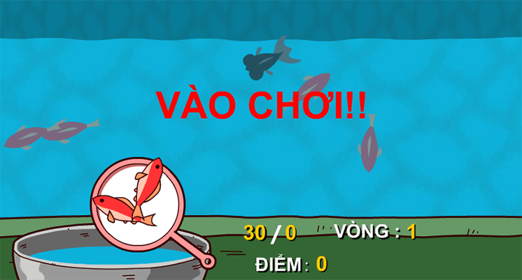 game vot ca vang hinh anh 2